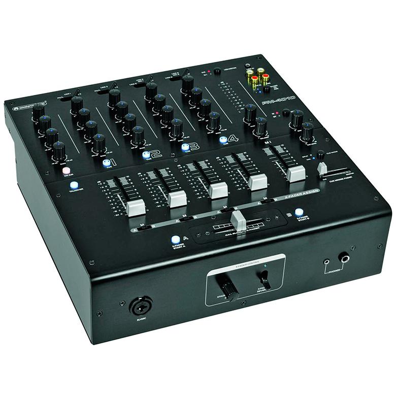 OMNITRONIC PM-4010B PM-4010 Pro DJ-Mixer, discoland.fi