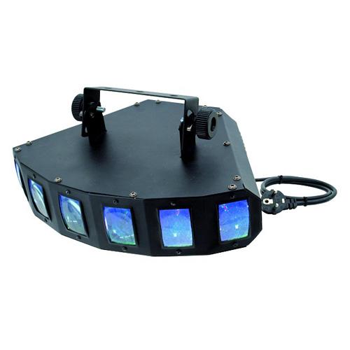 EUROLITE LED SCY-6 Led valoefekti RGB DM, discoland.fi