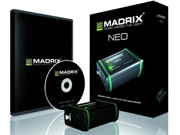 MADRIX NEO USB DMX512 interface/license, discoland.fi