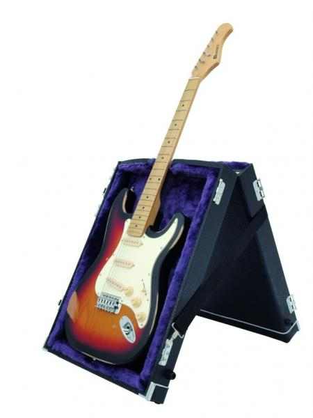 DIMAVERY Wood-Case Stand for Guitar Bass, discoland.fi