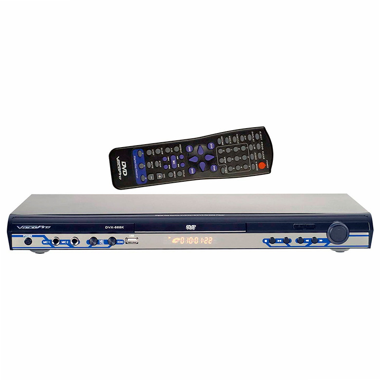 VOCOPRO DVX-668K DVD Karaokesoitin USB-s, discoland.fi