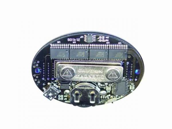 EUROLITE LOPPU! LED Rintanappi Badge blue 128 letters, LED rintanappi,  Sinisillä ledeillä, voidaan syöttää 128 kirjainta!
