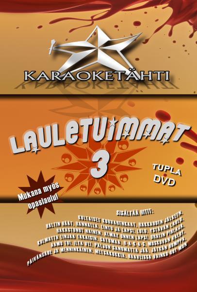KARAOKE DVD Karaoketähti Vol 10 Lauletu, discoland.fi