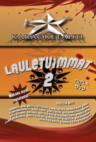 KARAOKE DVD Karaoketähti Vol 9 Lauletui, discoland.fi