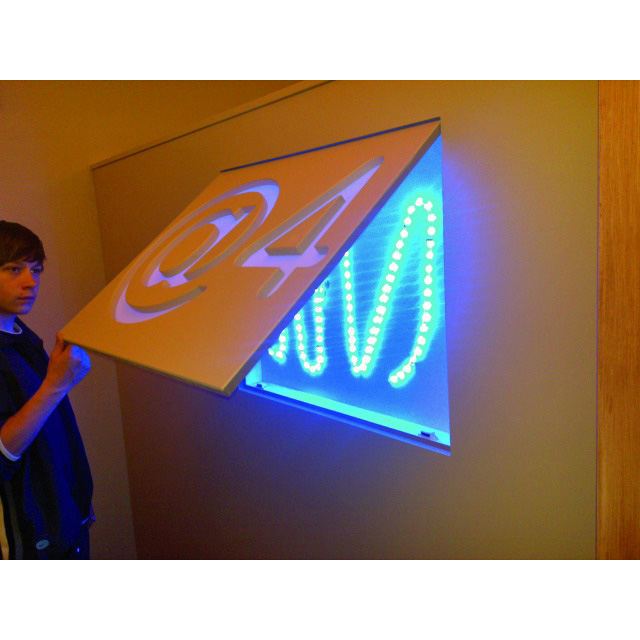 EUROLITE LED Silicone-Ribbon 35cm 33 LEDs 12V blue, IP44