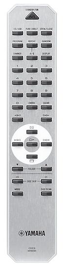 YAMAHA CDC-600USB 5-levyn CD-soitin karuselli Hopea, Yamahan patentoima playXchange, Random CD-R-RW toisto, CD-kasetti syncro, intro, CD-text, 40 kpl, ohjelmointi, optinen lähtö, RS-232, musta