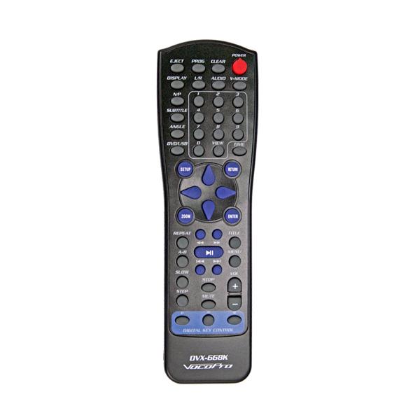 VOCOPRO>BUNDLE DVX-668K Karaoke DVD set USB DVD CD+G Karaoke Player, UUSI Karaoke-soitin! Sisältää 2 kpl Skytec   V-Mic mikrofoneja ja johdot. ±16 askeleen transponoinnilla! - ±16 askeleen sävelkorkeudensäätö (transponointi).Kaksi mikrofoni sisäänmenoa, yhdellä volumesäätimellä. Säädettävä digitaalinen kaiku mikrofoneille. ptiset sekä koaksiaaliset lähdöt audiolle sekä 5.1 surround sound. Todella tyylikäs Kromin ja mustan yhdistelmä, erittäin matala muotoilu.