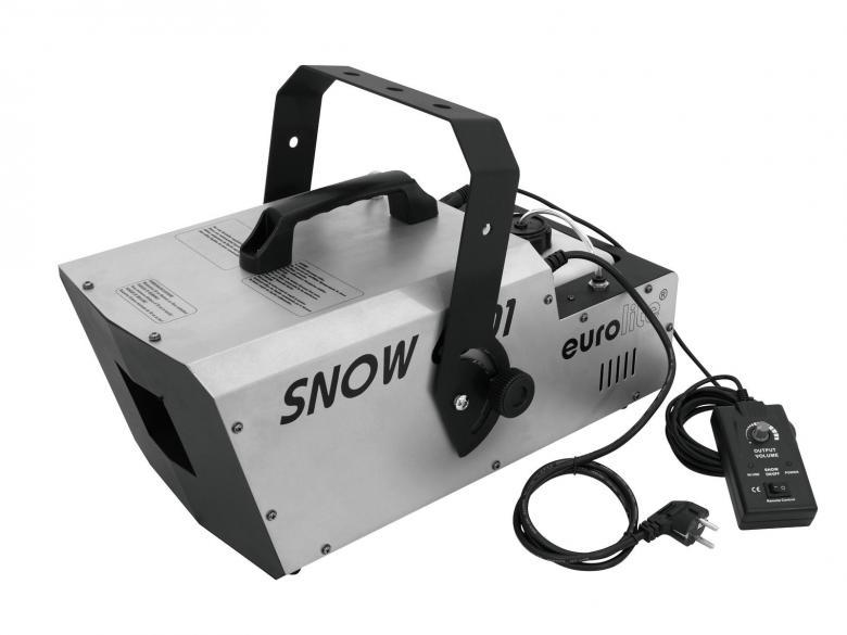 EUROLITE Lumikone Snow 6001 DMX Snow Mac, discoland.fi