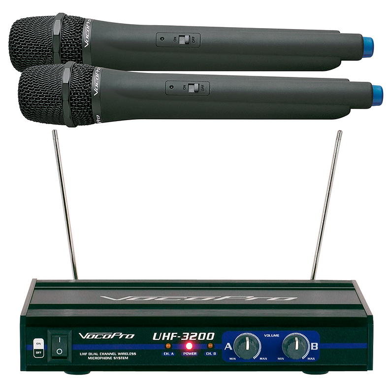 VOCOPRO UHF-3200 langaton mikrofonisetti, discoland.fi