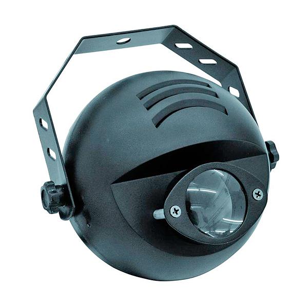 EUROLITE LED valaisin PST-9W TCL DMX vaikka peilipallolle 9W RGB väreillä. Tehokas kapeakeilainen spotti värinvaihdolla! Käy minne vaan. Erittäin kapea valokeila 6°. Mitat 135 x 165 x 170 mm sekä paino 0,5kg.