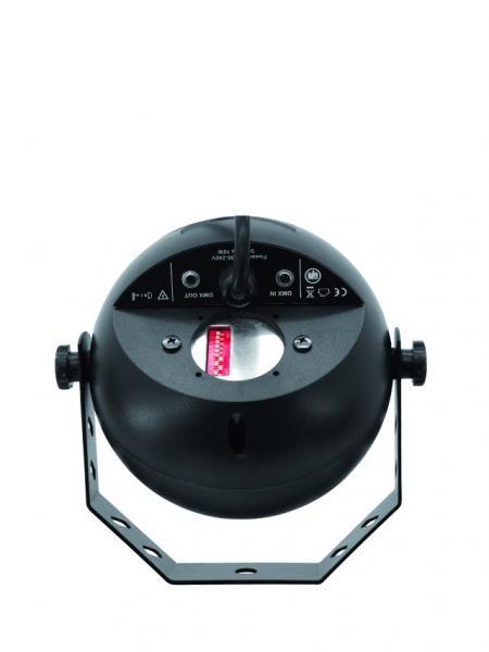 EUROLITE Vesiefektivalaisinprojektori LED H²O, pieni ja tehokas. Sisäänrakennettu efektipyörä tarjoaa ihastuttavan vesiefektin. Kiinteä asennus on suositeltavaa. Kotiin, kylpylään, loungeen, clubille luomaan miellyttävä ilmapiiri. Kytke laite päälle luodaksesi välittömän vesiefektin. H2o Mitat:135 x 165 x 170 mm Paino:0.8 kg