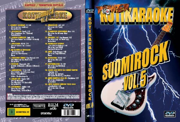 POWER pOISTO!Suomirock Vol.5, discoland.fi