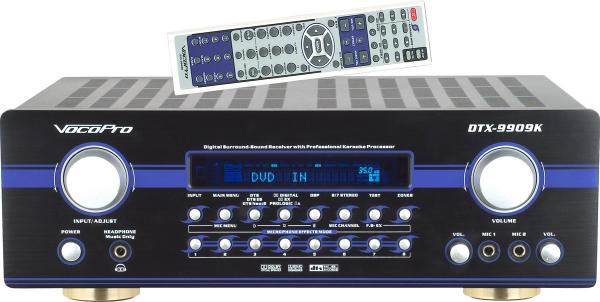 VOCOPRO DTX-9909K 700W MAX vahvistin 7-1, discoland.fi