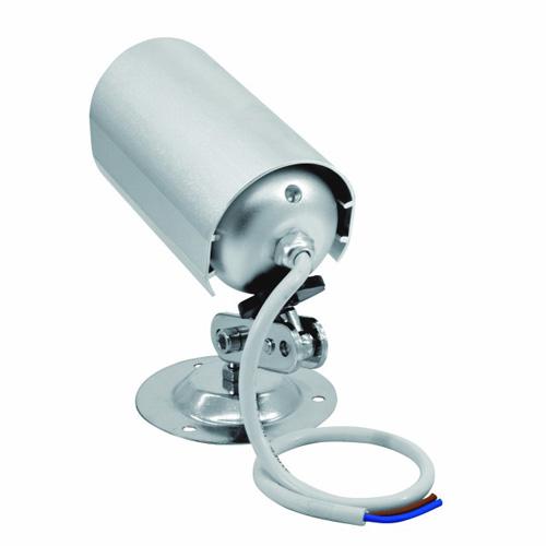 EUROLITE LED Wall-Spotlight 12V 1x 3W LED Blue, seivnälaisin sininen. Aukeamiskulma Beam angle:approx. 30° käännettävissä n.360°. Mitat 135 x 83 x 140 mm sekä paino 0,35kg.