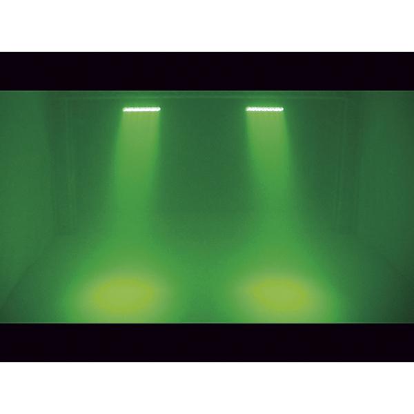 EUROLITE LED BAR-126 LED-palkki, käytännöllinen ja pieni. RGB 126x 10mm 20°. LED-toimintonäyttö ja ohjauspaneeli palkin takana, staattiset värit, RGBA-värisekoitus, sisäänrakennetut ohjelmat, himmenin ja strobe asetukset DMX:n kautta, musiikkiohjaus, DMX-ohjaus tai stand-alone, master/slave. Versatile LED-RGBA color changer.