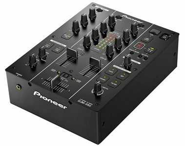 DJM-350 2 Channel DJ Mixer with USB recording