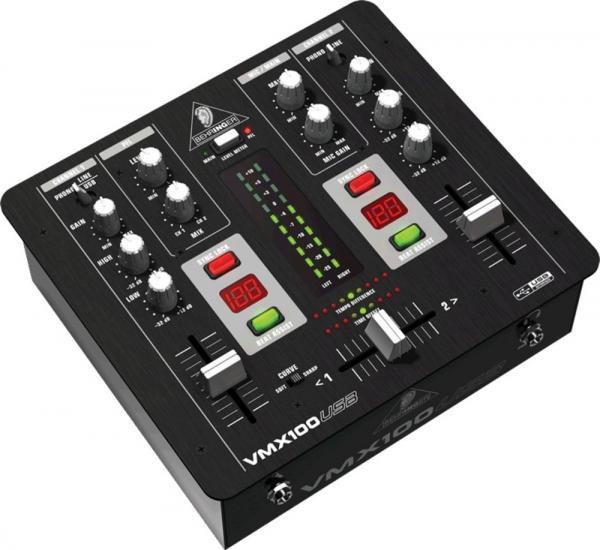 BEHRINGER PRO MIXER VMX100 USB, DJ Mikse, discoland.fi