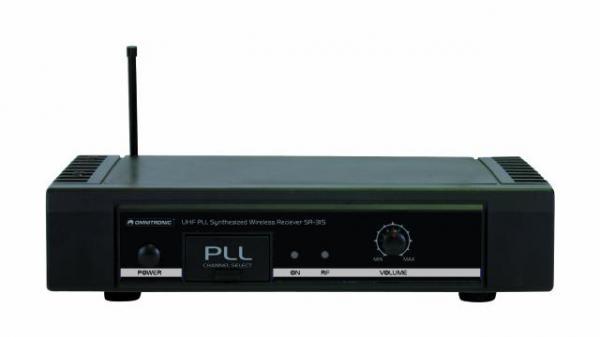 OMNITRONIC poisto!SR-315 + HM-115 langaton mic MIC SET 16 CH langaton järjestelmä sis. lähetin 1kpl+ vastaanotin 1kpl