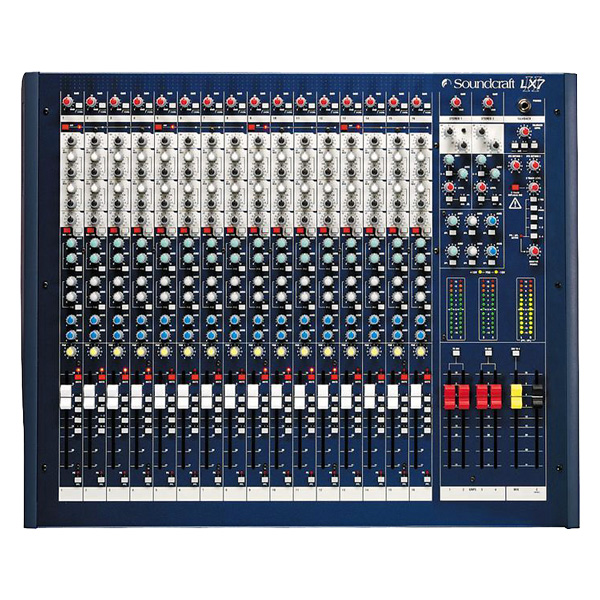 SOUNDCRAFT LX 7ii LIVE 16 mono-, 2 stere, discoland.fi