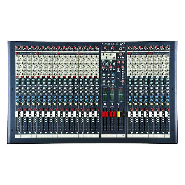 SOUNDCRAFT LX 7ii LIVE 24 mono-, 2 stere, discoland.fi