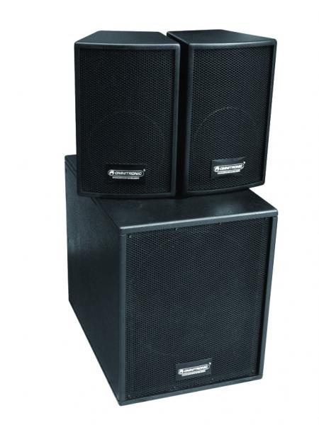 OMNITRONIC Demo (UUSI) AS-900MKII Active AS-System 900W, max. SPL 127dB, Subwoofer 1x 15
