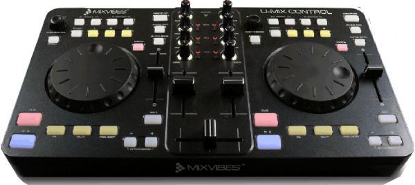 MIXVIBES U-Mix Control USB DJ Midi Controller, DJ-Console soittolaite, jolla teet tietokoneestasi Miksausaseman UUTUUS!