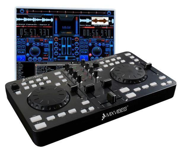 MIXVIBES U-Mix Control USB DJ Midi Contr, discoland.fi