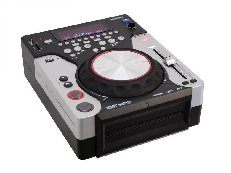 OMNITRONIC XMT-1400 Single DJ soitin mon, discoland.fi