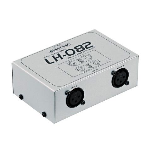 OMNITRONIC LH-082 Stereo isolaattori XLR, discoland.fi