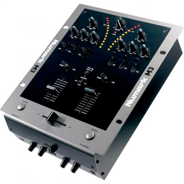 NUMARK M3 Full-featured Scratch Mixer, 2–Kanavainen 10