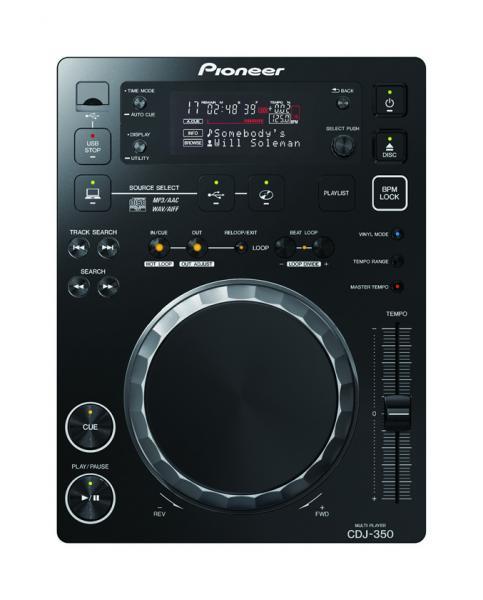 PIONEER 350BUNDLE 2x CDJ350 DJM350. Huippuluokan DJ setti. Sisältää 2kpl CD soitinta sekä 1kpl DJ mikseri