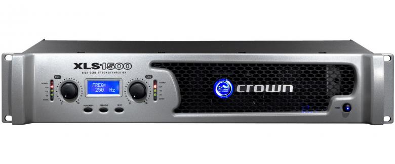CROWN XLS-1500 päätevahvistin 2x 525W , discoland.fi