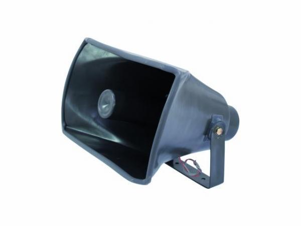 OMNITRONIC NOH-40S PA Torvikaiutin 8ohm 40W, Toimii loistavasti myös variksenpyynnissä! Horn speaker. Mitat 345 x 287 x 260 mm sekä paino 2,0kg.