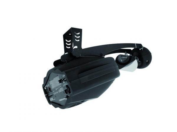 EUROLITE LED Scan TSL-300 60W, korkealaatuinen LED scan.Tämä valoefekti on loistava valinta discoon musiikkipubiin sekä liikkuvalle tiskijukalle. Voit ohjata tätä laitetta EUROLITE RC-1 remote controllilla ja linkittää siihen enemmän scaneja, käyttää DMX ohjaimella sekä yksittäin musiikkiohjauksella.