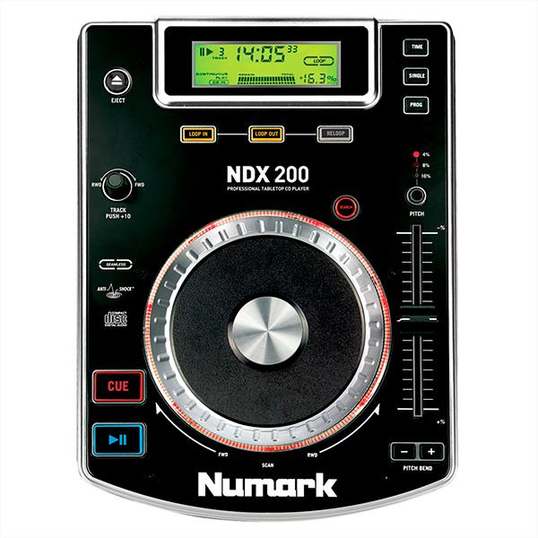 NUMARK NDX200 DJ Cd soitin pöytämallin, discoland.fi