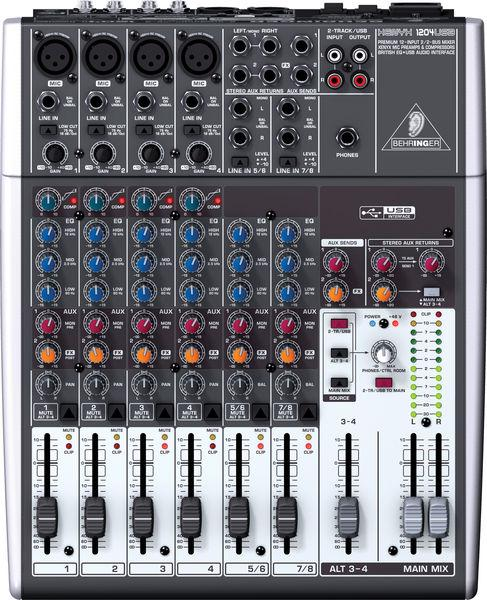 BEHRINGER XENYX 1204 USB , discoland.fi