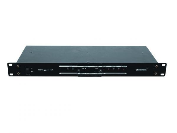 OMNITRONIC SPL-1 Desibelimittari-limitteri ammattikäyttöön. Tarvitset lisäksi Näytön SPL-1 LEDeillä sekä CAT kaapelin. Laite kytketään PA laitteiden ulostuloon, jolloin voidaan säätää DB taso halutuksi ja limitteri tulee vaimentamaan äänen! Db level meter, DB-mitta laite kiinteään asennukseen. Mitat 483 x 185 x 44 mm sekä paino 2.5kg.