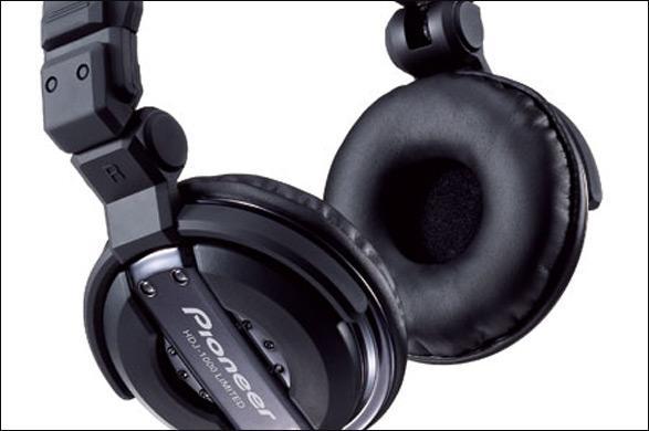PIONEER HDJ-1000 Black (rajoitettu erä) Huippu Dj-kuuloke, PRO-DJ-Tuote