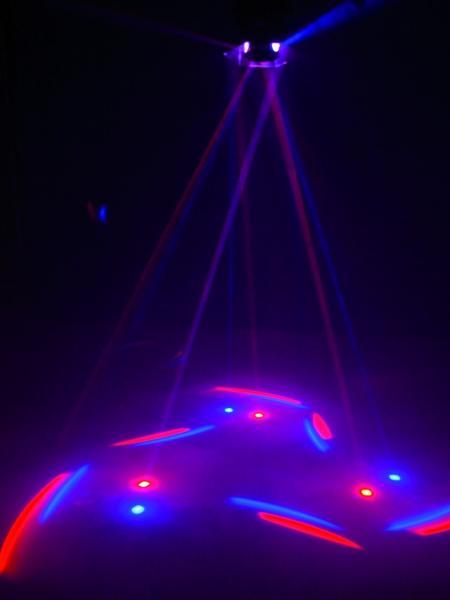 EUROLITE LED BR-100  Efekti valo, Centerpiece, effect-light