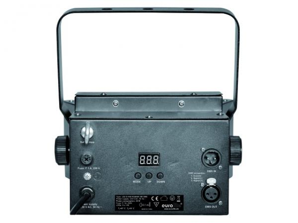 EUROLITE LED D-400 RGBAW Beam Effect 5x 3W DMX, Futuristinen Valoefekti 5x 3W LEDeillä!