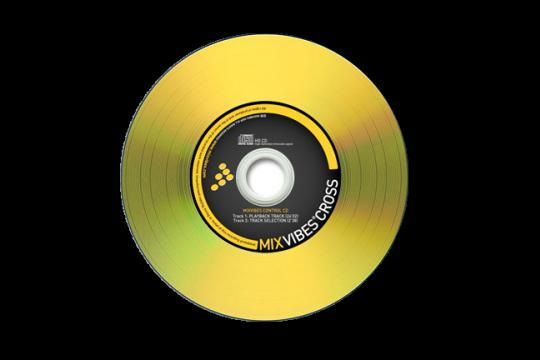 MIXVIBES CONTROL CD Aikakoodi levy tarvi, discoland.fi