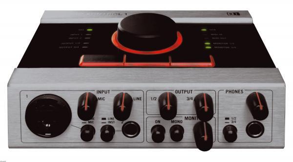NATIVEINSTRUMENTS Loppu!Audio Kontrol 1, audio interface, USB- äänikortti 192kHz, 24 bittinen äänenlaatu!
