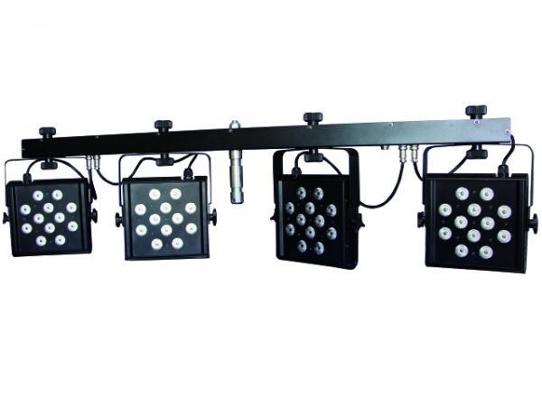 EUROLITE LED KLS-1001 TCL DMX 4 spotin v, discoland.fi