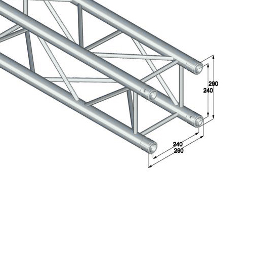 ALUTRUSS  QUADLOCK trussi 6082-1500 pikalukittava 4-pistetrussi pituuss 1500mm