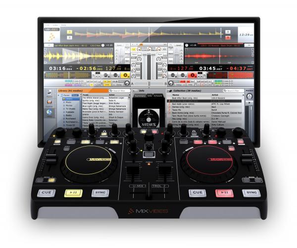 MIXVIBES U-MIX CONTROL 2 USB DJ Midi Con, discoland.fi