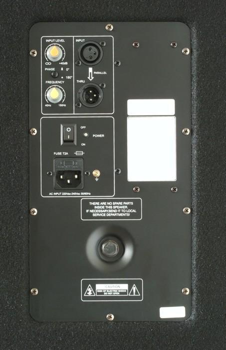 SKYTEC SMWA15 PA aktiivisubwoofer 15