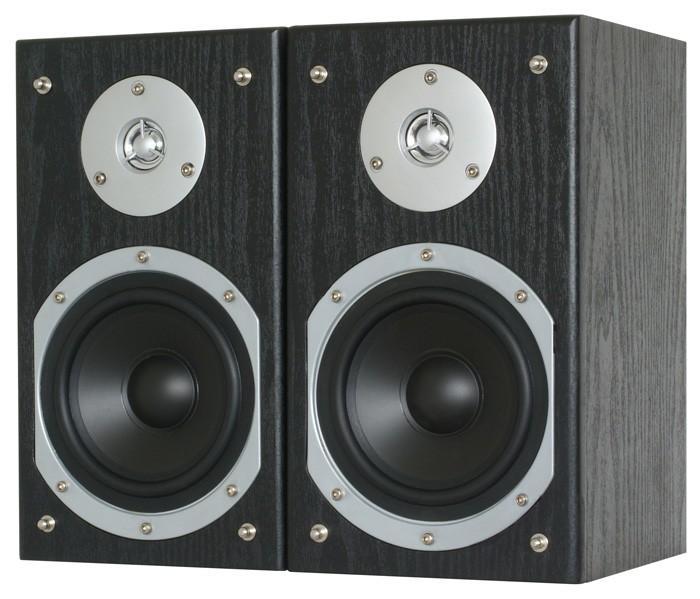 SKYTRONIC SHFB55B Hyllykaiuttimet pari musiikkiteho 140W 6ohmia 5