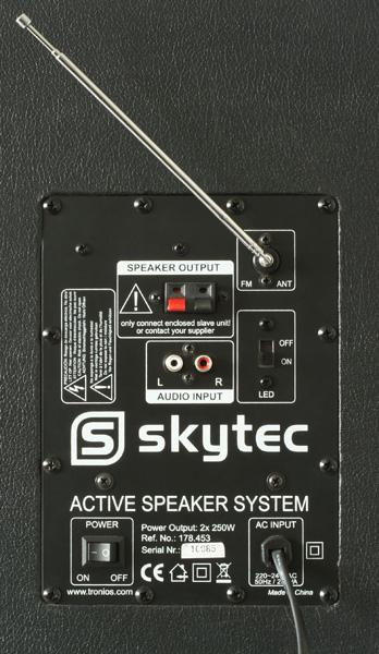 SKYTEC SPD-10 LED Disco 10-1 Aktiivikaiutin 10