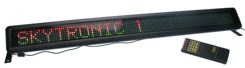 POISTO LED-näyttö Ohjelmoitava 108cm L, discoland.fi