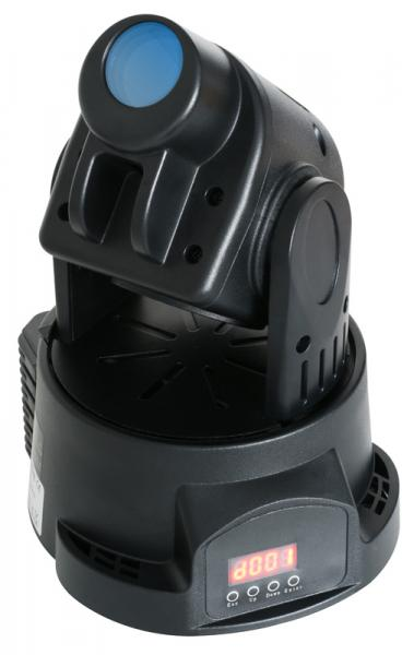 BEAMZ MH-1 Mini Moving Head 14W RGB LEDi, discoland.fi